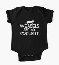 Weasels are my favourite Kids Clothes