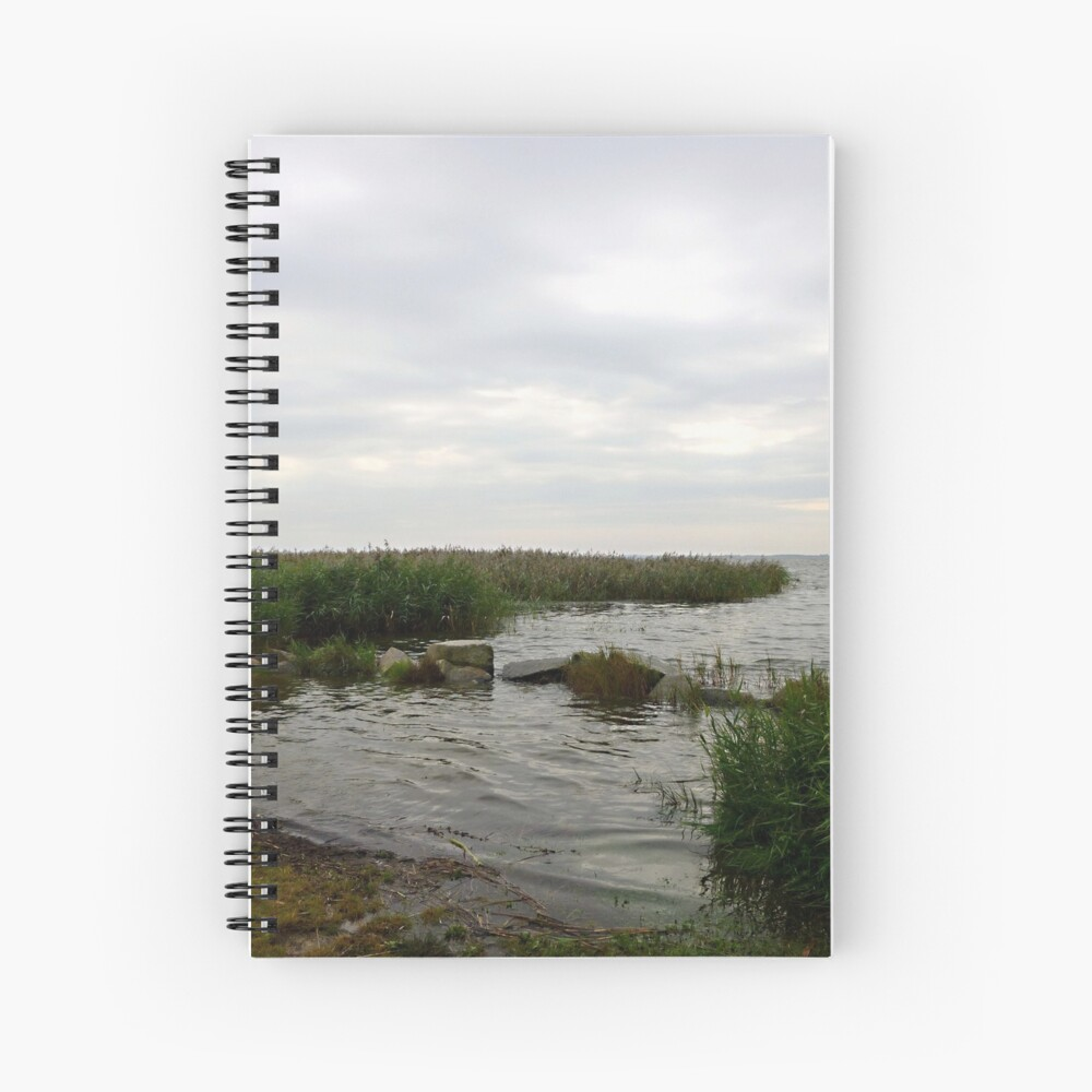 Lunch time at the backwaters Spiral Notebook