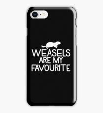 Weasels are my favourite iPhone Case/Skin