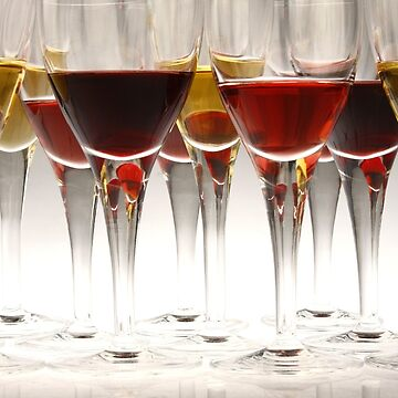 Alcoholic drinks in goblets by junpinzon