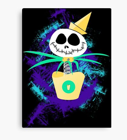 Jack Springloaded (Want Fries With That?) Canvas Print