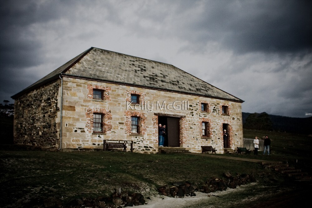 Commissariat Store c1825, Maria Island by Kelly McGill