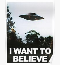 The X Files I Want to Believe  Poster
