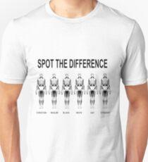Tolerance Peace Race Religion Unisex T-Shirt