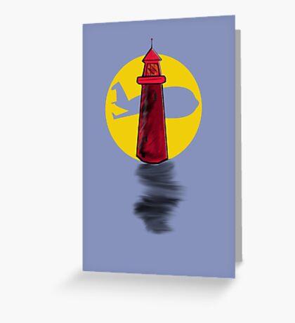 Lighthouse Air Greeting Card