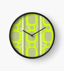 Flourescent Chain Link Clock