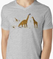 Brachiosaurus Men's V-Neck T-Shirt