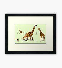 Brachiosaurus Framed Print