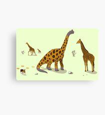 Brachiosaurus Canvas Print