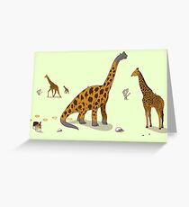 Brachiosaurus Greeting Card