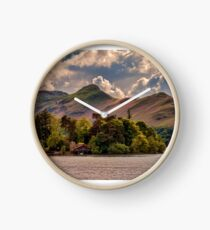 Across The Lake To Catbells Clock