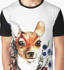 A wee Fawn Graphic T-Shirt
