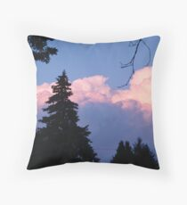 Mountains of Clouds Throw Pillow