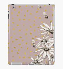 Daisies in the Gold Rain  iPad Case/Skin