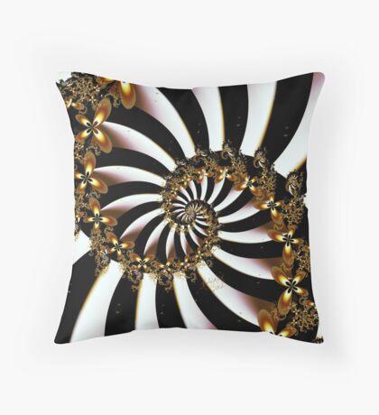 Butterfly Vortex Throw Pillow