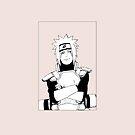 Jiraiya (White) - Naruto by Studio Momo ╰༼ ಠ益ಠ ༽