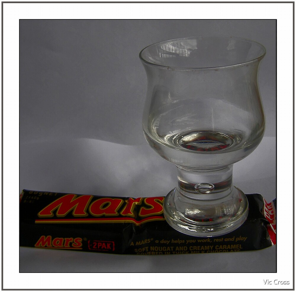 Water found on Mars ... by Vic Cross