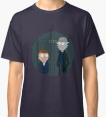 Rick and Morty - Sherlock Crossover Classic T-Shirt