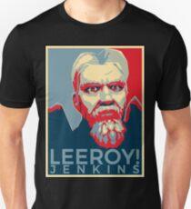Leeroy Jenkins Obamized Unisex T-Shirt