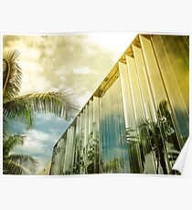 Beverly Hills - Palm Reflections II Poster