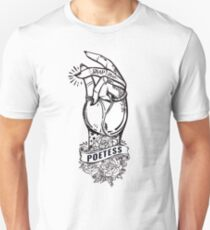 """POETESS"" Sexy Fingers with Tattoos Snapping T-Shirt"