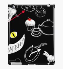 Alice in Wonderland Pattern iPad Case/Skin