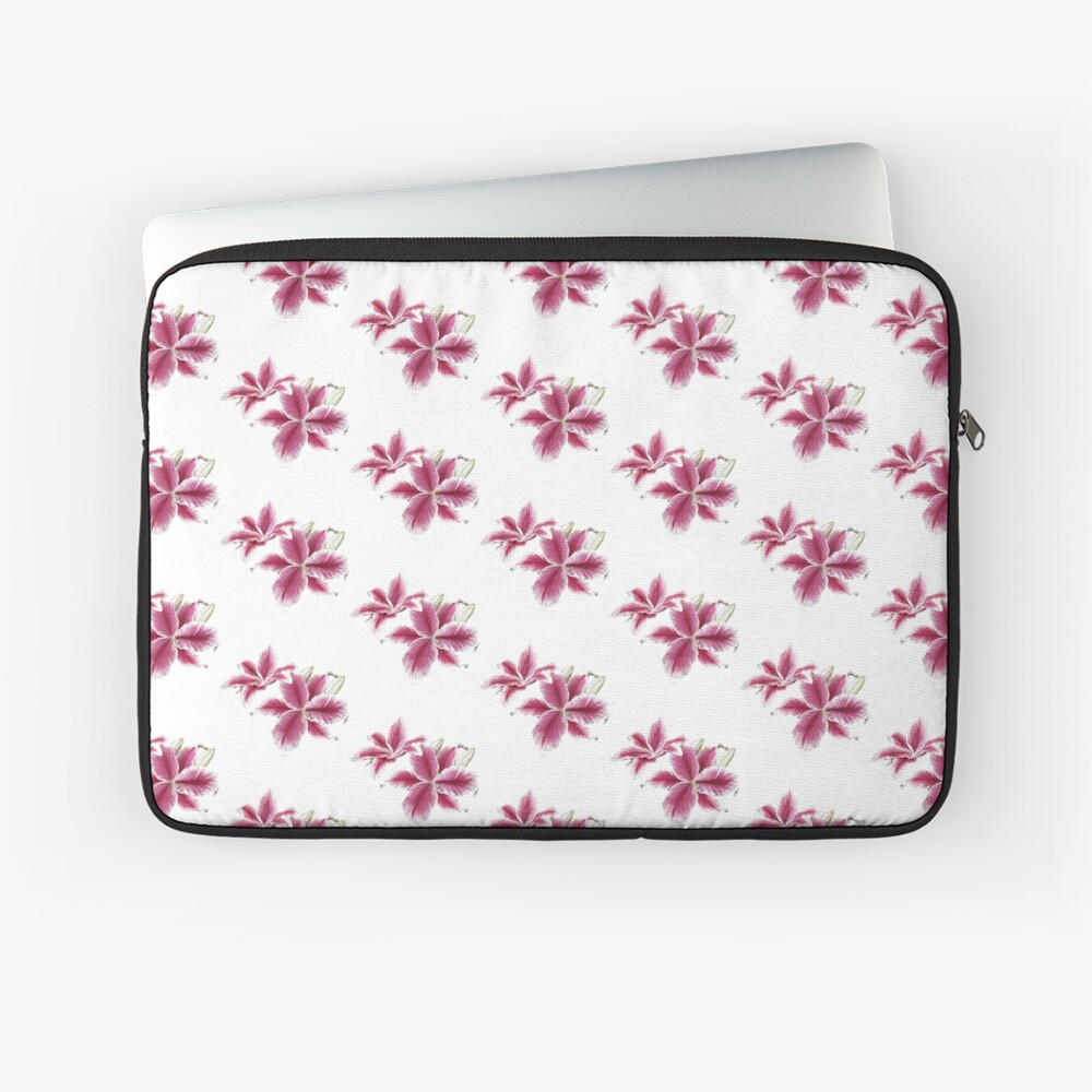 Stargazer Lilly Laptop Sleeve Front