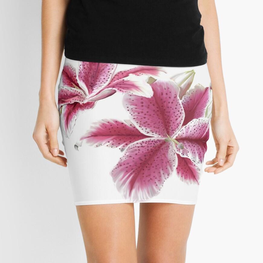 Stargazer Lilly Mini Skirt Front