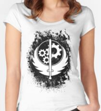 Brother hood of steel T-shirt Women's Fitted Scoop T-Shirt