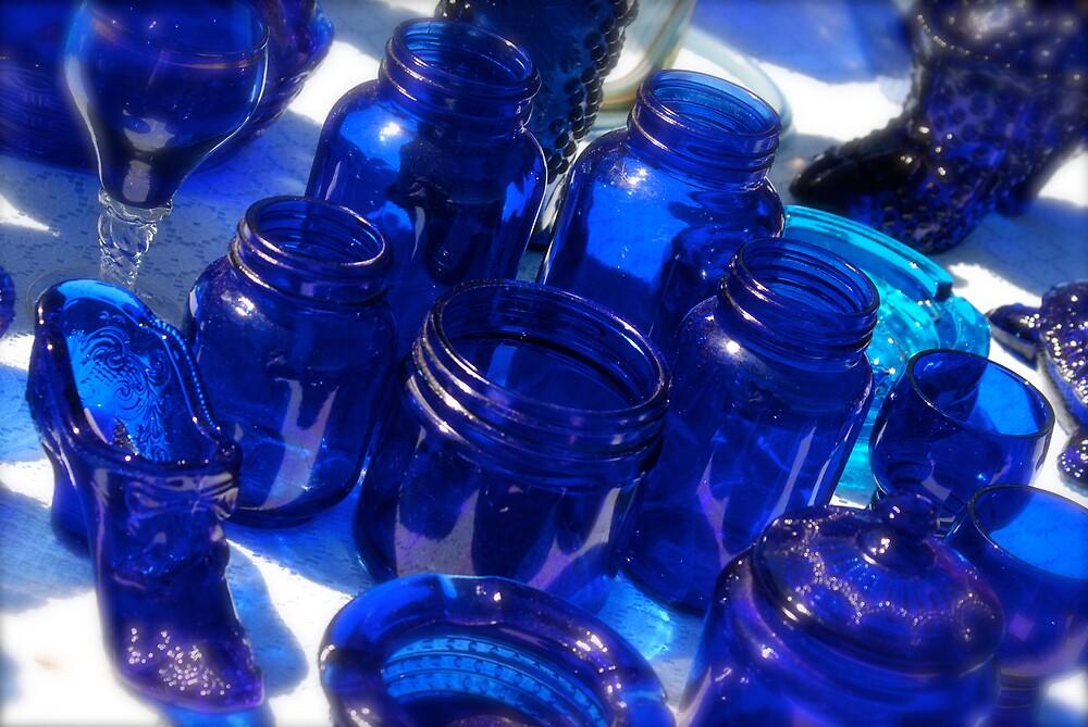 Blue Glass by Robert Baker