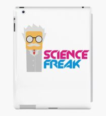 SCIENCE FREAK TSHIRT iPad Case/Skin