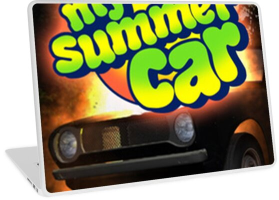 My Summer Car Laptop Skins By Flowerstime Redbubble