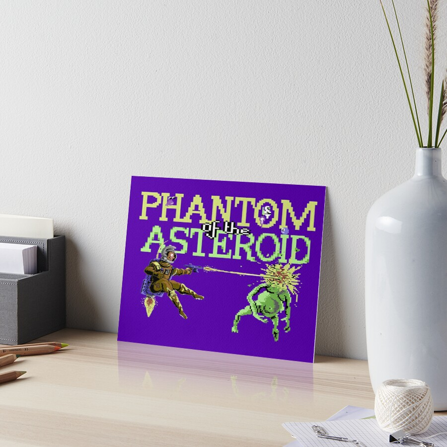Gaming [C64] - Phantom of the Asteroid by ccorkin