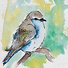 blue bird by CupcakeRo