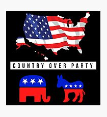 country over party Photographic Print
