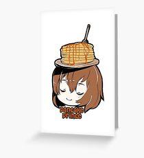 Pancake Prince Greeting Card