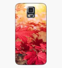 Autumn leaves on a tree Case/Skin for Samsung Galaxy