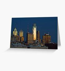 Philadelphia Downtown/Center City (Alan Copson © 2007) Greeting Card