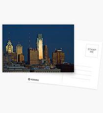 Philadelphia Downtown/Center City (Alan Copson © 2007) Postcards