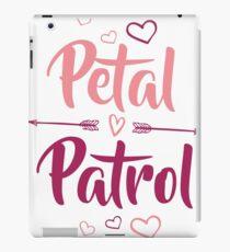 Kids Petal Patrol Shirt Flower Cute Wedding Girl T-Shirt Ring Tee iPad Case/Skin
