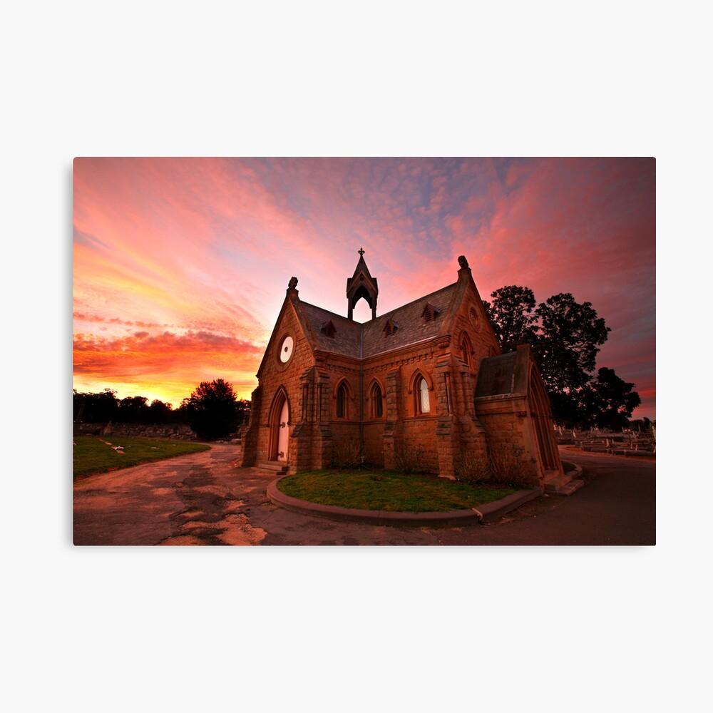 Bendigo Cemetery, Victoria, Australia Canvas Print