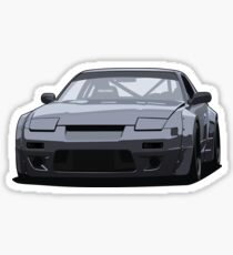 240SX Rocket Bunny Render Sticker