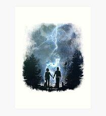 The storm of life Art Print