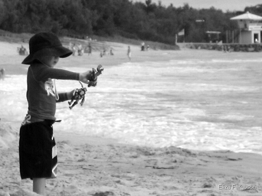 Beach Play by Eliza Ferguson