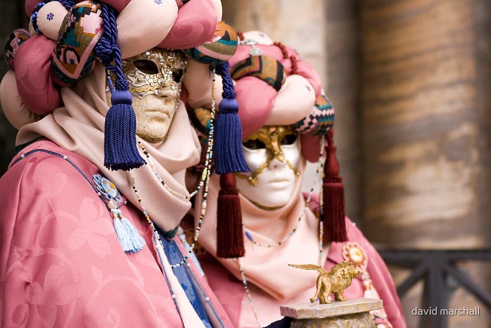 Masked pair by david marshall