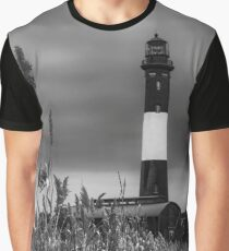 Lighthouse | Fire Island, New York Graphic T-Shirt