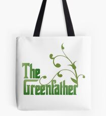 The Greenfather: Environmental Parody Tote Bag
