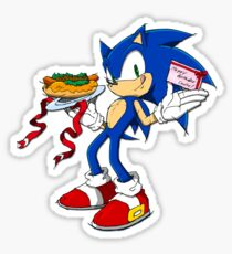 Sonic the (birthday boy) Sticker