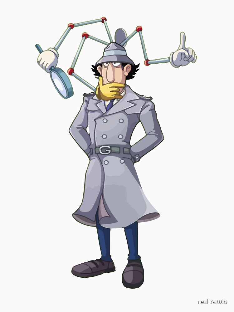 Inspector Gadget by red-rawlo