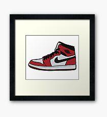Jordan 1 Framed Print